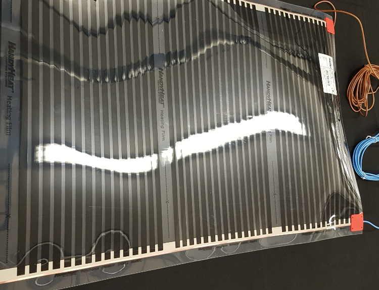 PV500  1,00 m X 0,5 m. 0,5 mm tjock.