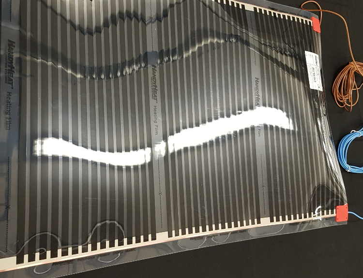 PV1000  1,50 m X 1,0 m. 0,5 mm tjock.
